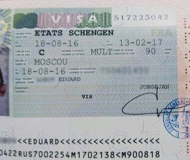 Как сделать визу шенген на год