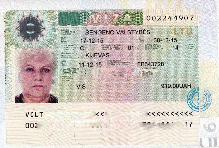 Как сделать шенген через литву